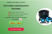 Скопировать Landing page, одностраничный сайт, посадочную страницу 107 - kwork.ru