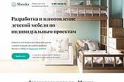 Сайт под ключ. Landing Page. Backend 524 - kwork.ru