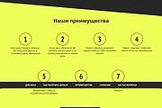 Сайт под ключ. Landing Page. Backend 530 - kwork.ru