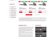 Уникальный дизайн сайта для вас. Интернет магазины и другие сайты 254 - kwork.ru