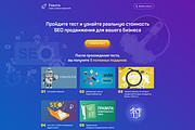 Дизайн страницы Landing Page - Профессионально 133 - kwork.ru