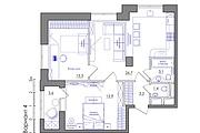 Планировка квартиры или жилого дома, перепланировка и визуализация 137 - kwork.ru