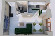 Создам планировку дома, квартиры с мебелью 110 - kwork.ru