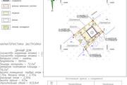 Схема планировочной организации земельного участка - спозу 54 - kwork.ru