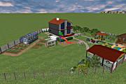 Создам 3D визуализацию ландшафта 9 - kwork.ru