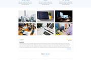 Дизайн страницы сайта 175 - kwork.ru
