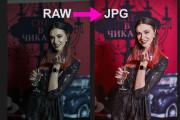 Для проф. фотографов - конвертация фото из RAW в JPG, 100 штук 30 - kwork.ru