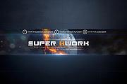Шапка для Вашего YouTube канала 237 - kwork.ru