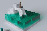 3D Modeling. Создам 3D модель, фигуру, объект, персонажа 75 - kwork.ru