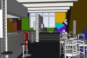 SketchUp l Планировка интерьеров 50 - kwork.ru