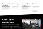 Качественная копия Landing Page на Tilda 29 - kwork.ru