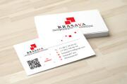 Дизайн визитки с исходниками 150 - kwork.ru