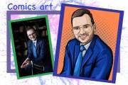 Нарисую портрет в стиле Pop Art,Comics Art, Stik Art 49 - kwork.ru