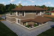 Фотореалистичная 3D визуализация экстерьера Вашего дома 393 - kwork.ru