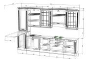 Проект корпусной мебели, кухни. Визуализация мебели 101 - kwork.ru