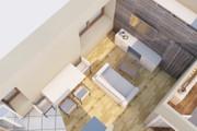 Создам планировку дома, квартиры с мебелью 134 - kwork.ru