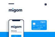 Разработка логотипа для сайта и бизнеса. Минимализм 175 - kwork.ru