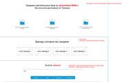 Прототип лендинга для продажи товаров и услуг 104 - kwork.ru