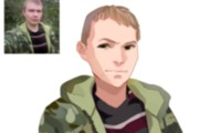 Создам ваш портрет в стиле аниме 89 - kwork.ru