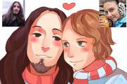 Создам ваш портрет в стиле аниме 88 - kwork.ru