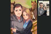 Создам ваш портрет в стиле аниме 85 - kwork.ru