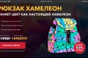 Скопирую страницу любой landing page с установкой панели управления 140 - kwork.ru