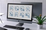 Нарисую иконки для сайта 90 - kwork.ru