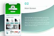 Дизайн мобильного приложения UI UX 39 - kwork.ru