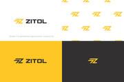 Разработка логотипа для сайта и бизнеса. Минимализм 140 - kwork.ru