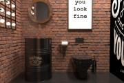 Создам визуализацию дизайна кафе, бара, шаурмечной 13 - kwork.ru