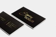 Сделаю дизайн визитки, визитных карточек 104 - kwork.ru