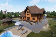 Фотореалистичная 3D визуализация экстерьера Вашего дома 359 - kwork.ru