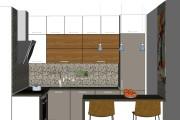 Дизайн-проект кухни. 3 варианта 39 - kwork.ru