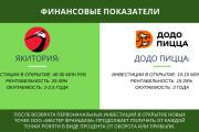 Стильный дизайн презентации 682 - kwork.ru