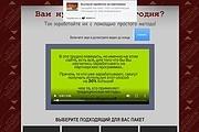 Скопирую Landing Page, Одностраничный сайт 147 - kwork.ru