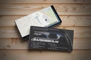 Макет визитки 63 - kwork.ru