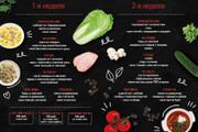 Дизайн меню для кафе, ресторанов, баров и салонов красоты 36 - kwork.ru