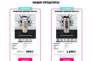 Сайт под ключ. Landing Page. Backend 586 - kwork.ru