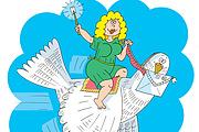 Оперативно нарисую юмористические иллюстрации для рекламной статьи 143 - kwork.ru
