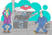 Оперативно нарисую юмористические иллюстрации для рекламной статьи 142 - kwork.ru