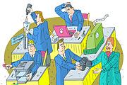Оперативно нарисую юмористические иллюстрации для рекламной статьи 140 - kwork.ru