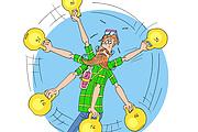 Оперативно нарисую юмористические иллюстрации для рекламной статьи 136 - kwork.ru