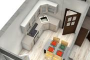 Создам планировку дома, квартиры с мебелью 148 - kwork.ru