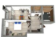 Создам планировку дома, квартиры с мебелью 147 - kwork.ru