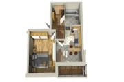 Создам планировку дома, квартиры с мебелью 144 - kwork.ru