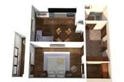 Создам планировку дома, квартиры с мебелью 142 - kwork.ru