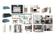 Планировочные решения. Планировка с мебелью и перепланировка 137 - kwork.ru