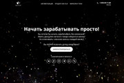Копия сайта, landing page + админка и настройка форм на почту 114 - kwork.ru