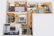 Создам планировку дома, квартиры с мебелью 150 - kwork.ru