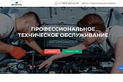 Создание одностраничника на Wordpress 344 - kwork.ru